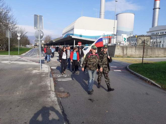 Pohod Brestanica - Krško